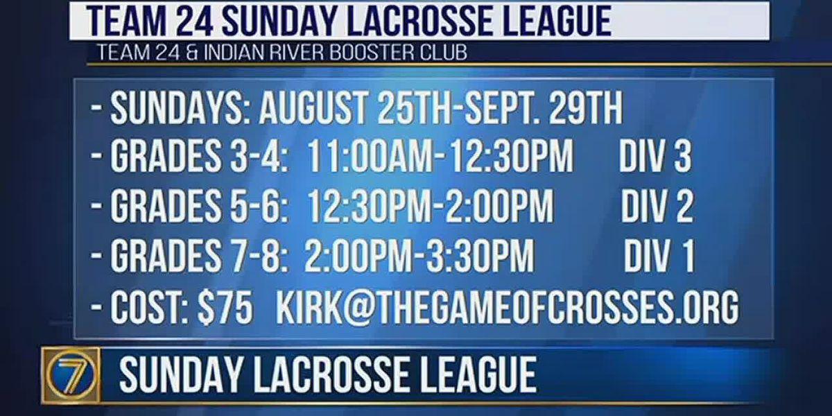 Sunday Lacrosse League starting soon