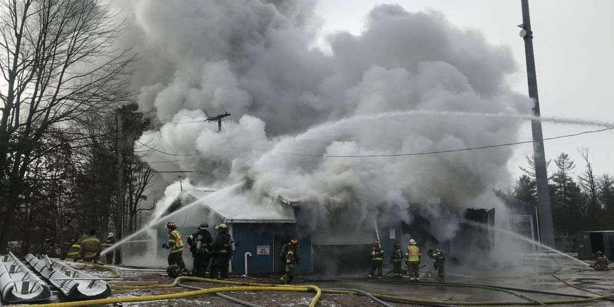 Fire engulfs Theresa Department of Public Works garage, office