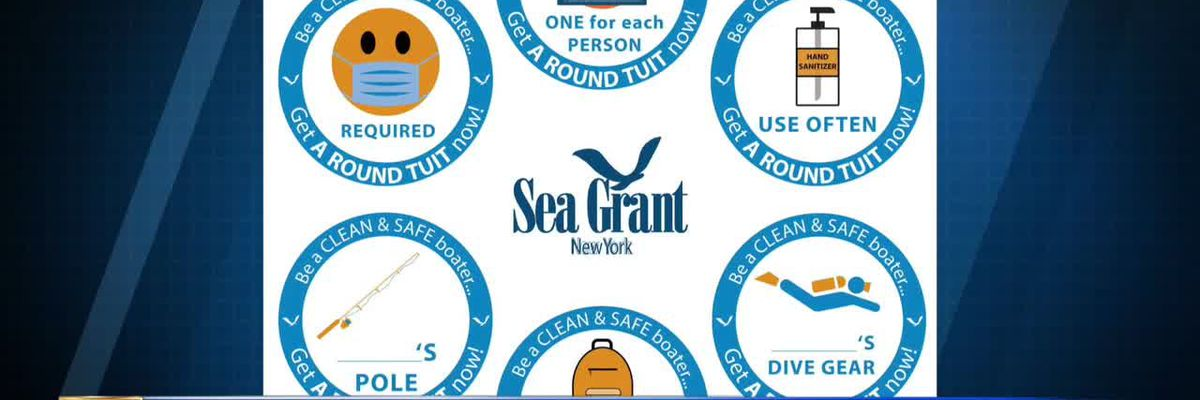 New York Sea Grant's new decals