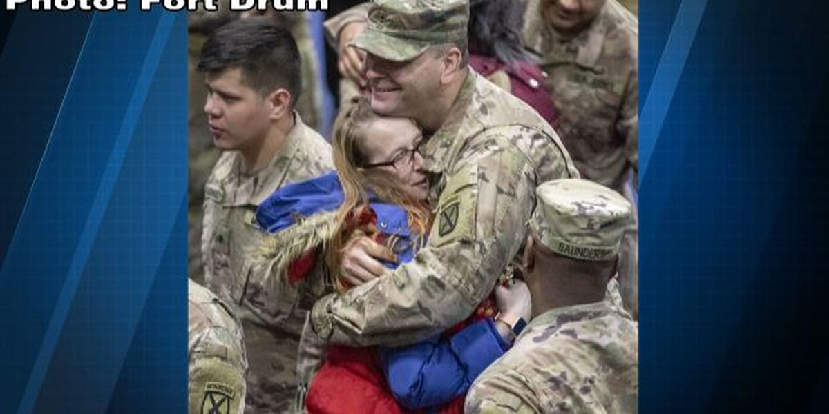 Fort Drum soldiers come home early from Afghanistan