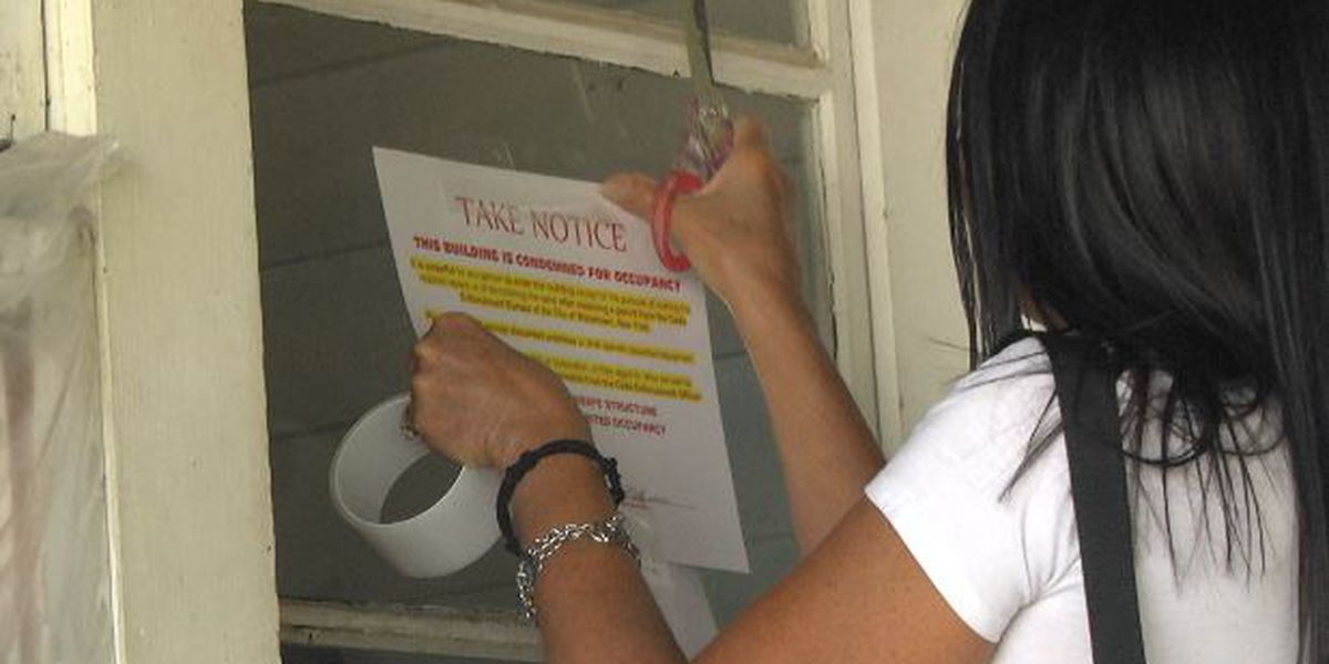 Owner and tenant blame each other as Watertown condemns home