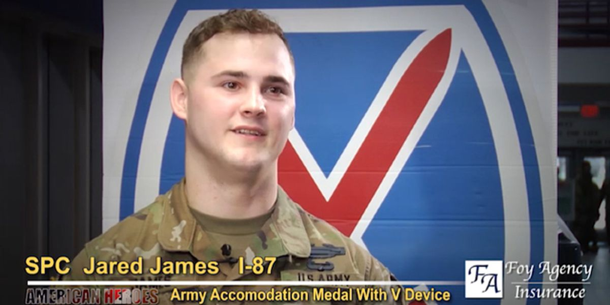 Jared James: Army Commendation Medal