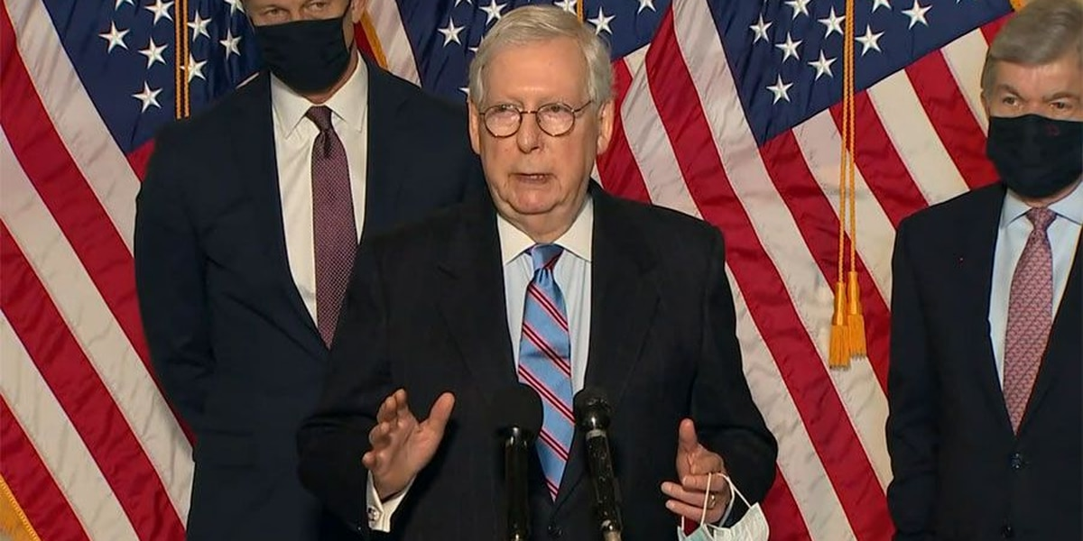 McConnell on virus relief bill: 'Dramatically more money than is required'