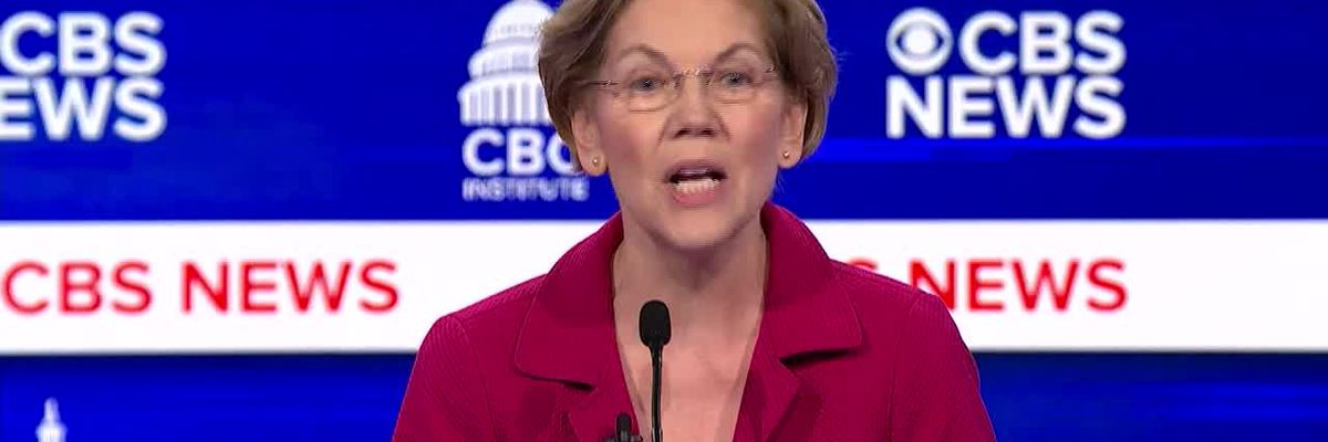 """Warren: """"Mayor Bloomberg is alleged have said to one of his pregnant employees, 'Kill it.'"""""""