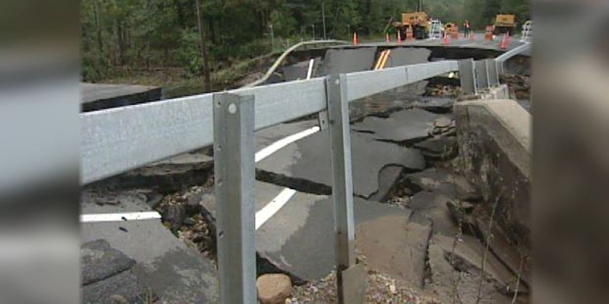 Blast from the Past: 2005 bridge washout in Colton