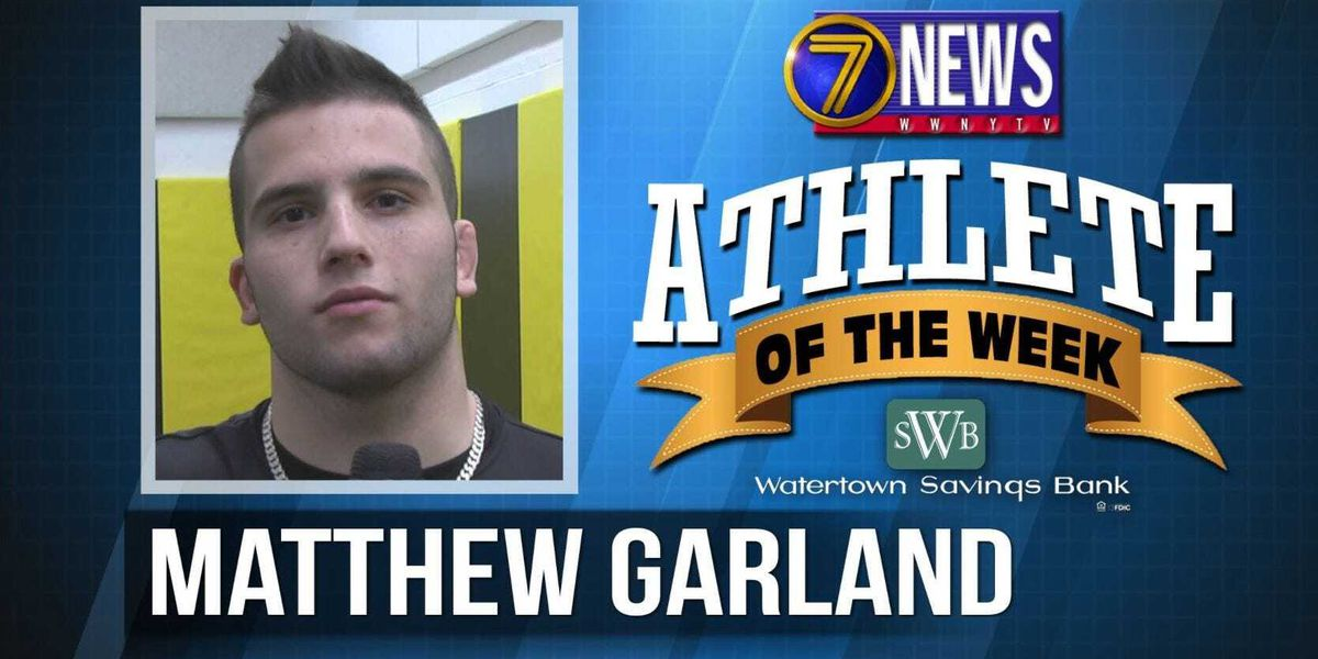 Athlete of the Week: Matthew Garland