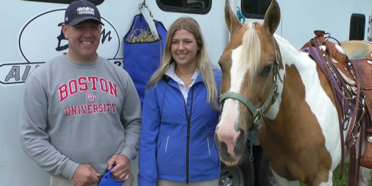 Horseback riding Father's Day tradition for Copenhagen Family