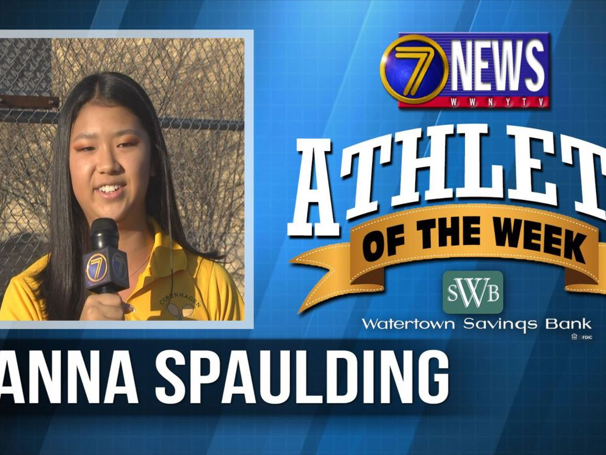 Athlete of the Week: Anna Spaulding