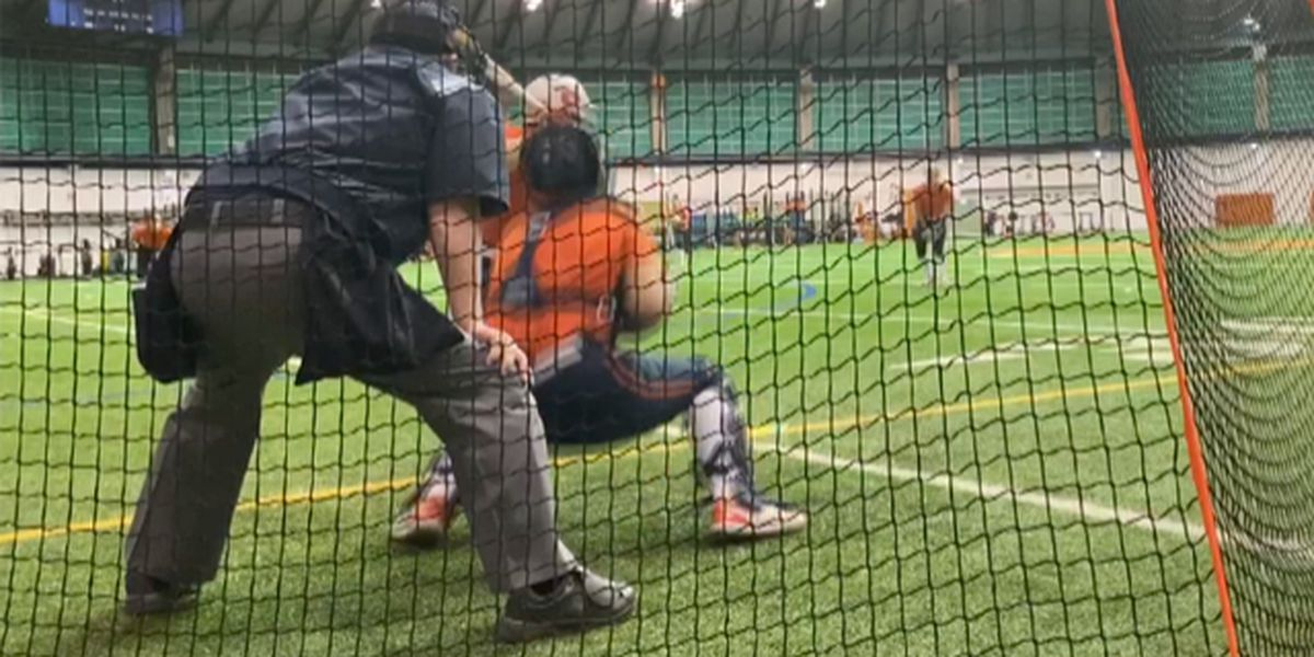 Carthage native umpires big-time college softball
