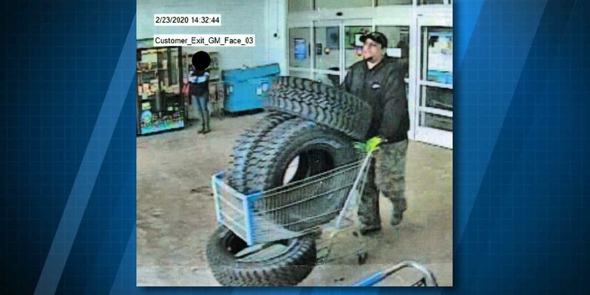 Troopers ask for help identifying alleged tire thief