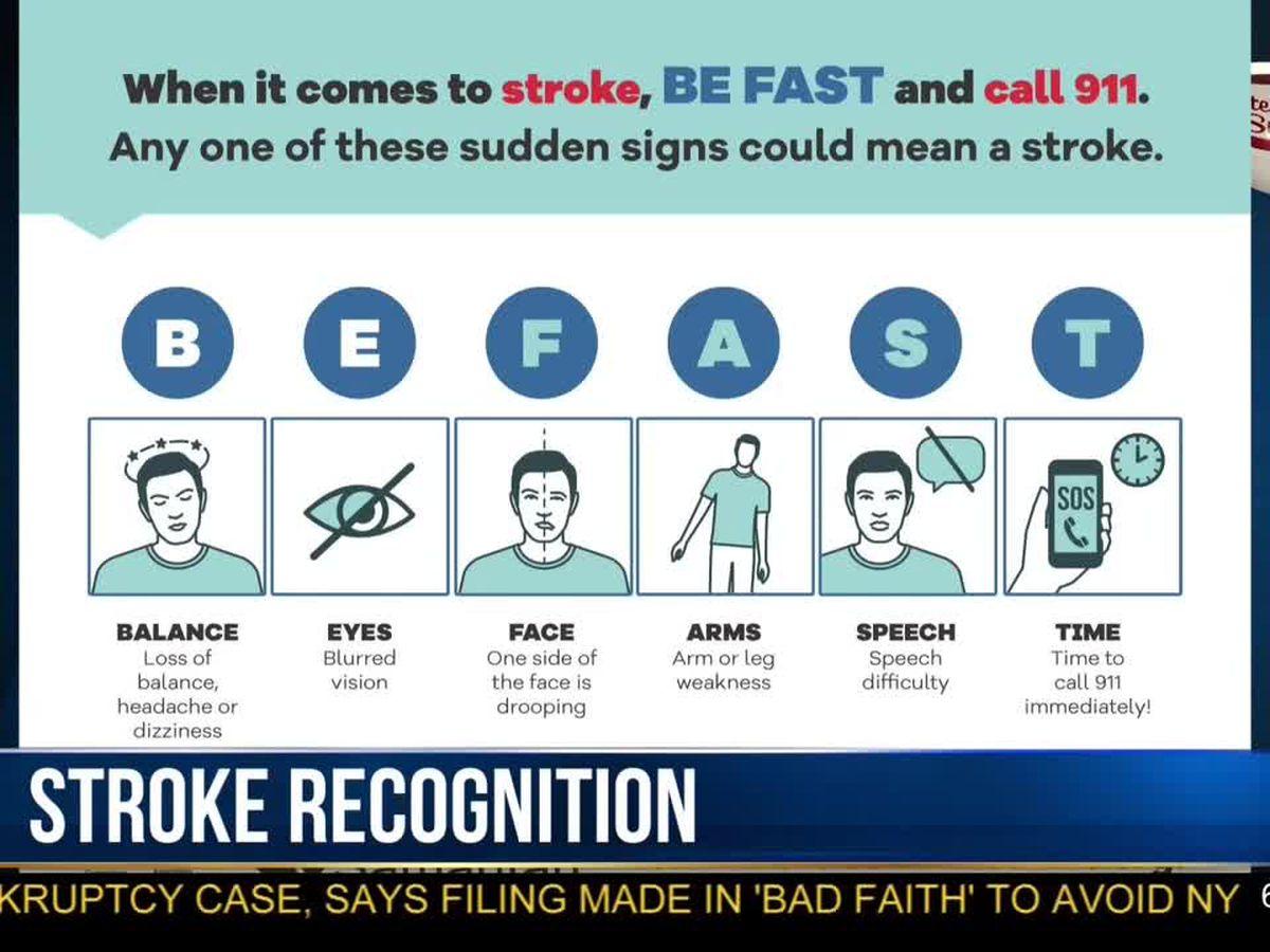 Morning Checkup: stroke recognition