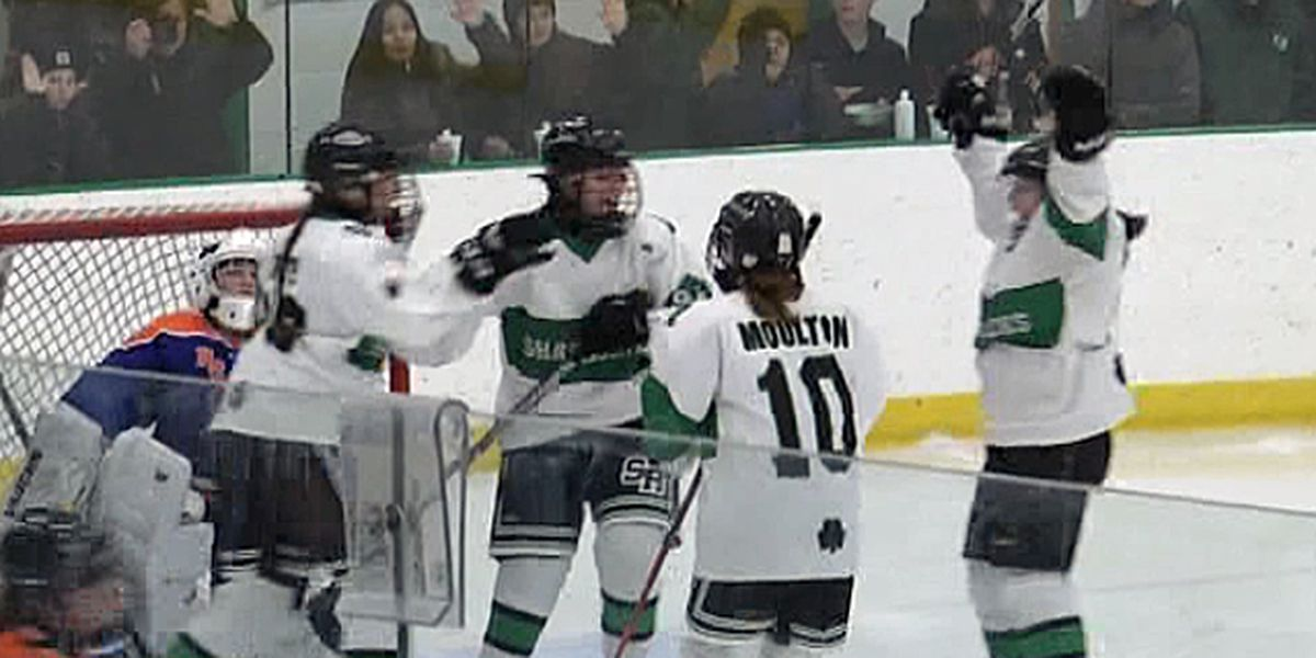 Highlights & scores: girls' hockey & boys' hoops