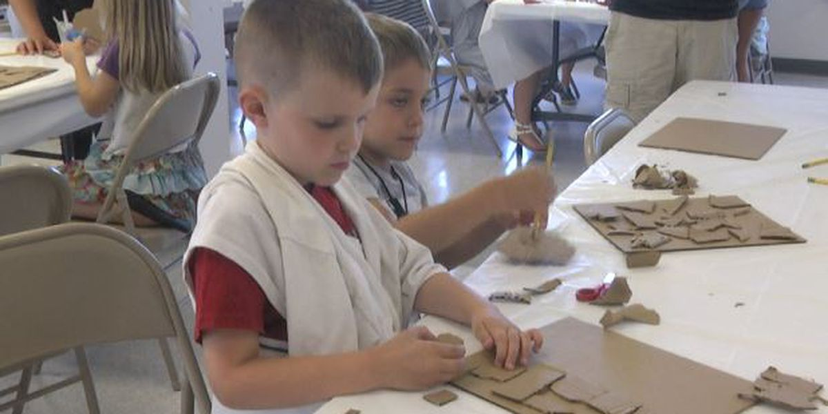 Youngsters enjoy art camp