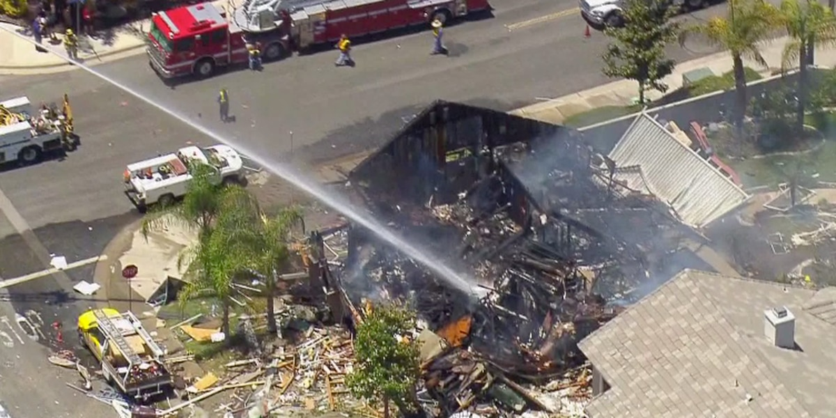 California home gas blast kills 1, injures 15