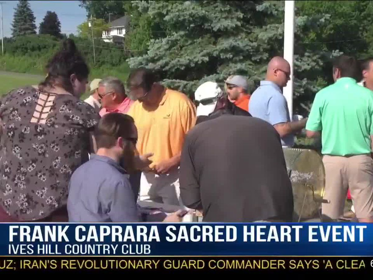 Frank Caprara golf tourney helps Sacred Heart Foundation
