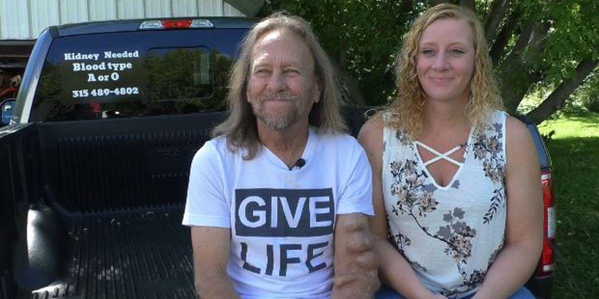 'Dialysis love story' couple seeks kidney donation