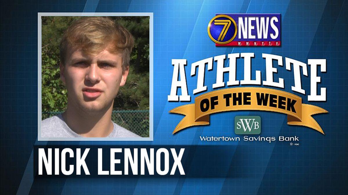 Athlete of the Week: Nick Lennox