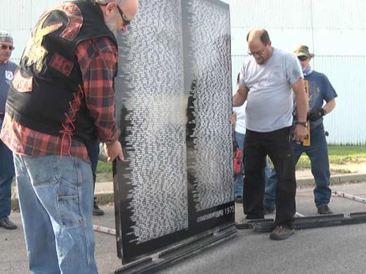 Vietnam Traveling Memorial Wall arrives in Massena