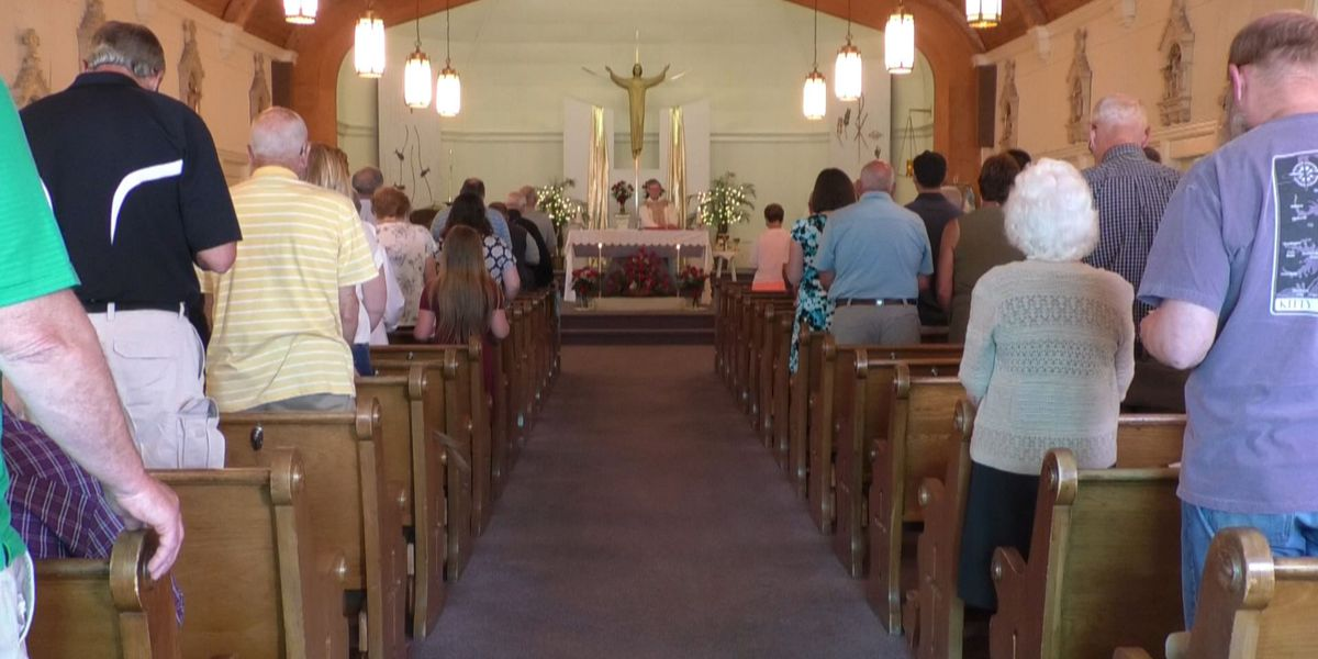 One last mass at St. Rita's in Deferiet