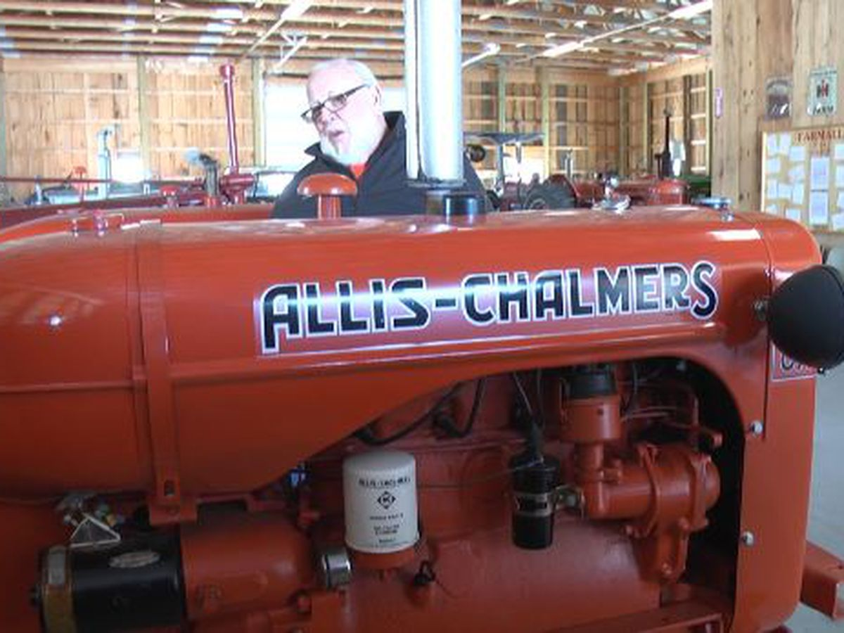 Gathering of Allis-Chalmers tractors coming to St. Lawrence County