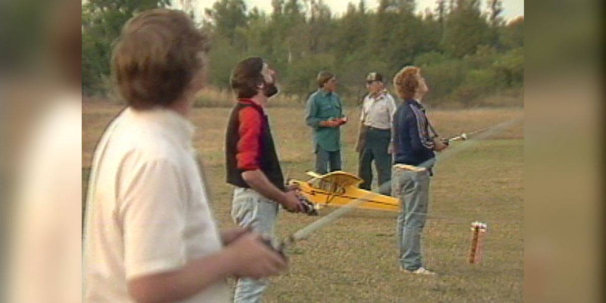 Blast from the Past: Limerick model plane show 1989