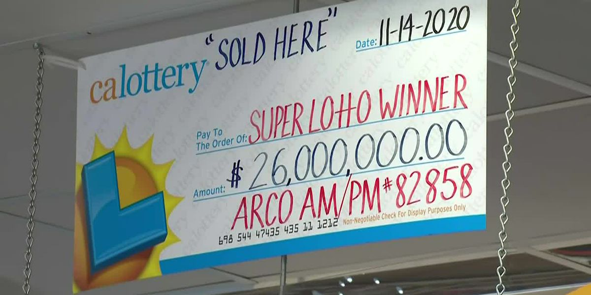 California lottery winner washed ticket, loses millions