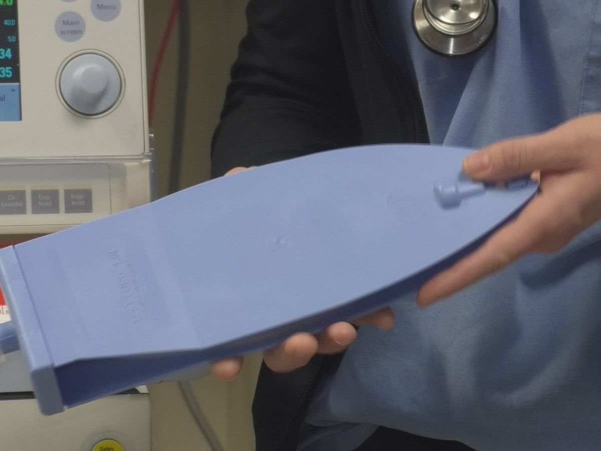A north country respiratory therapist is concerned about decision to move ventilators downstate