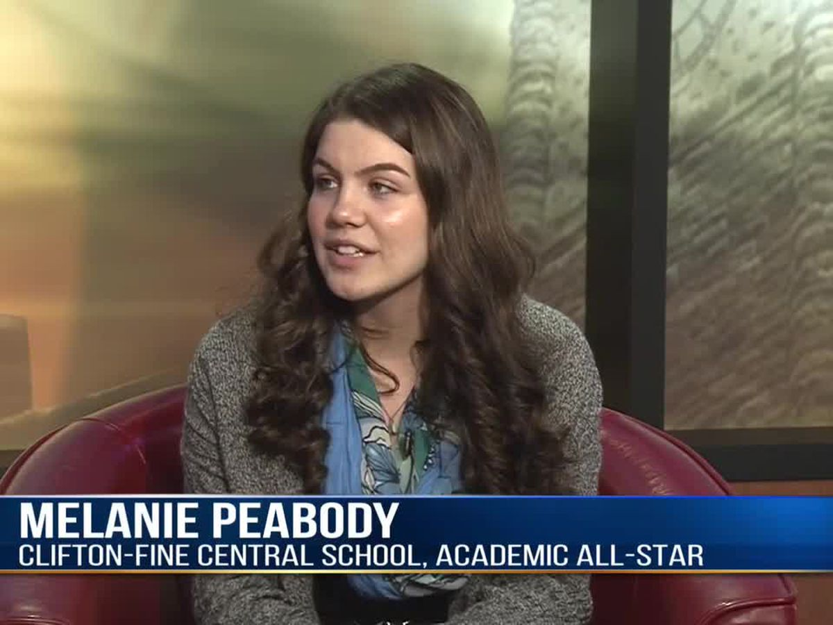 Academic All-Star: Melanie Peabody