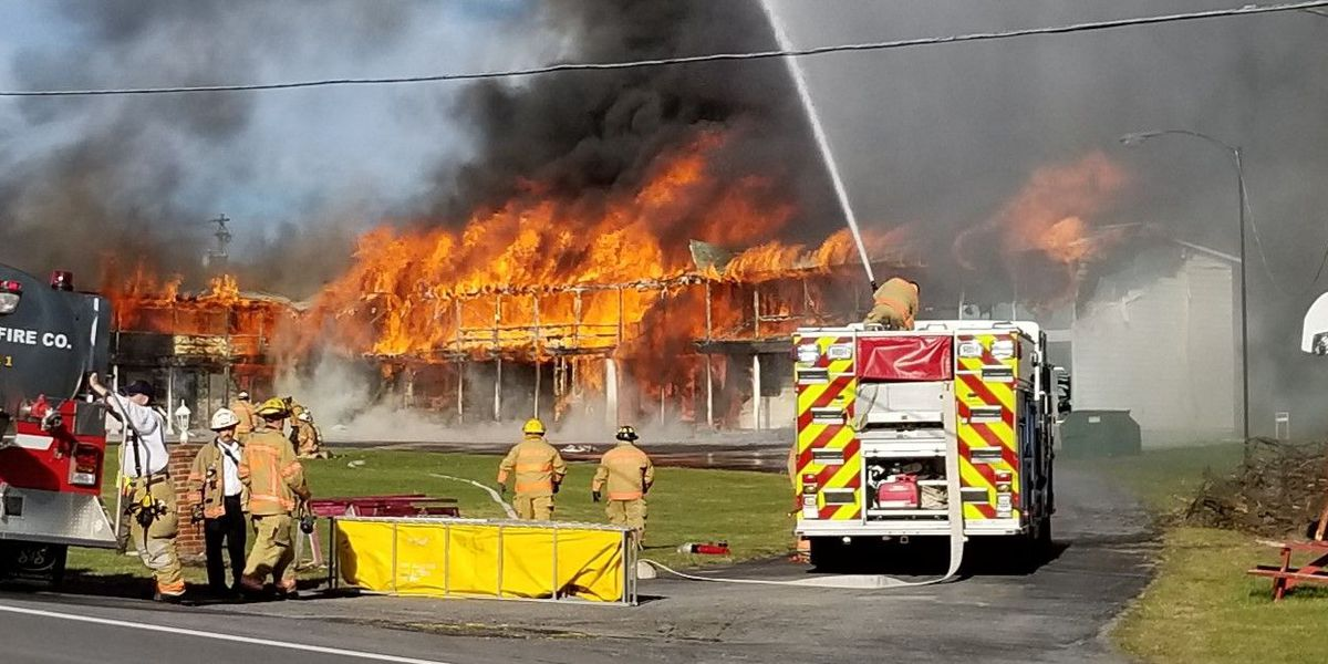 Rainbow Motel fire investigation closed, no cause determined
