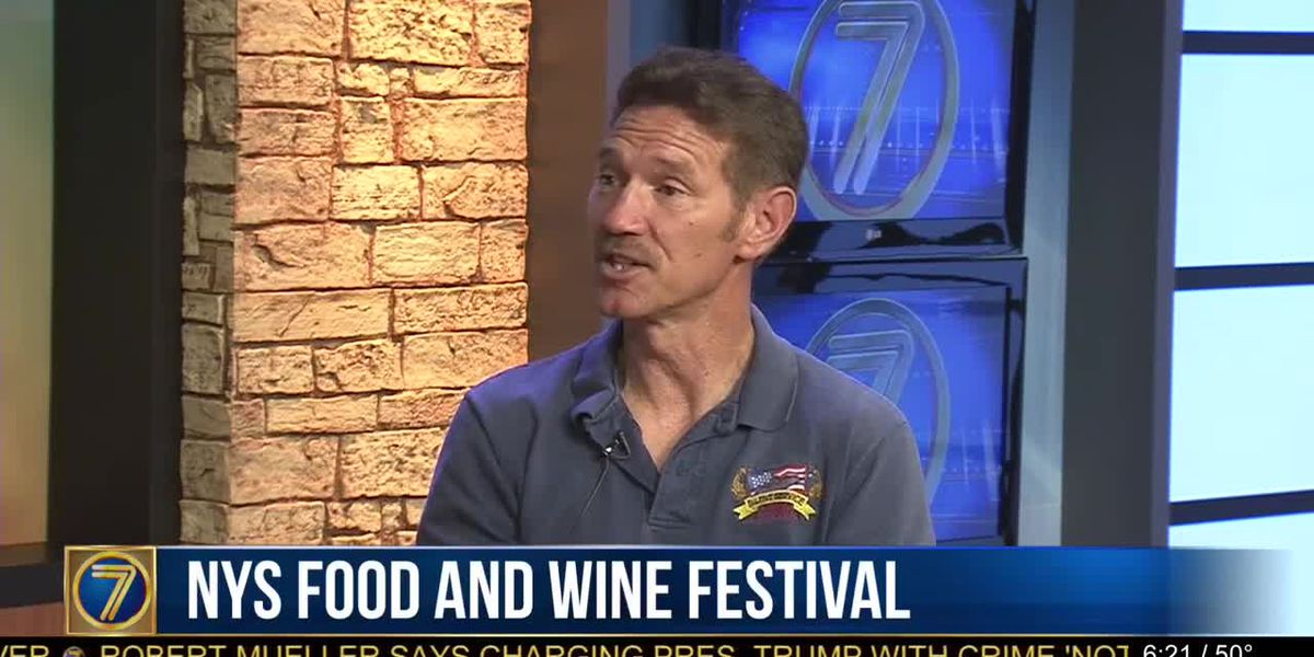 Whet your appetites for NYS food and wine fest