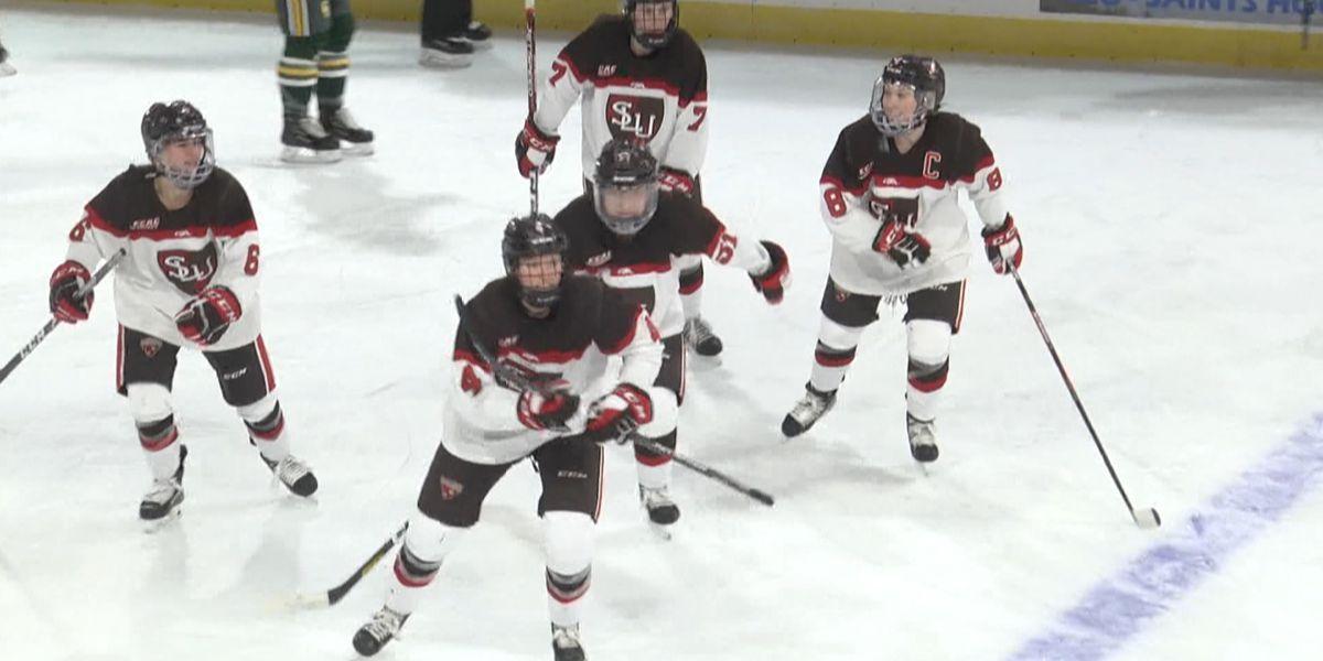 Sports: St. Lawrence Women's Hockey breaks in new Appleton Arena