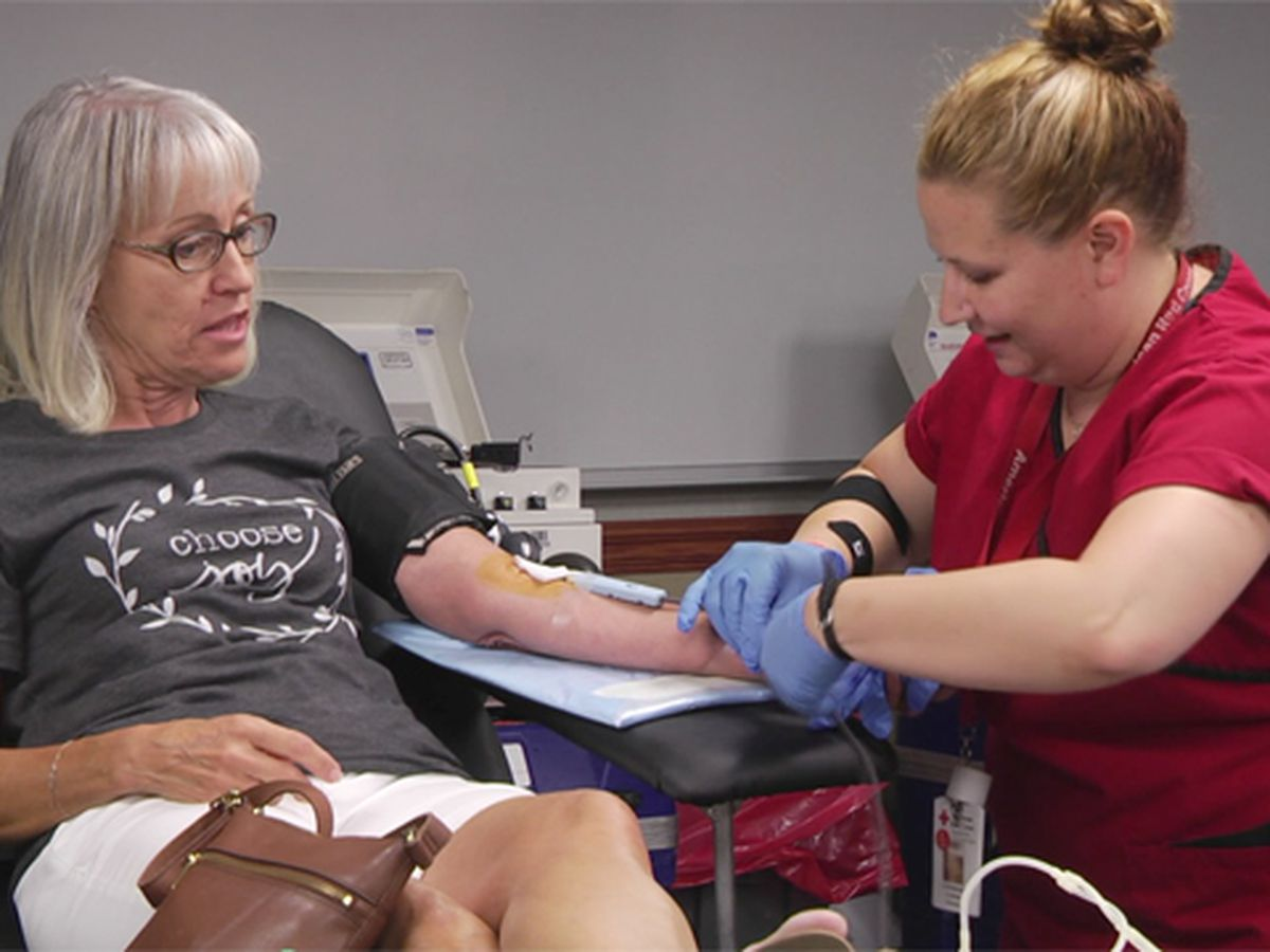 Red Cross offers free antibody test with each blood donation