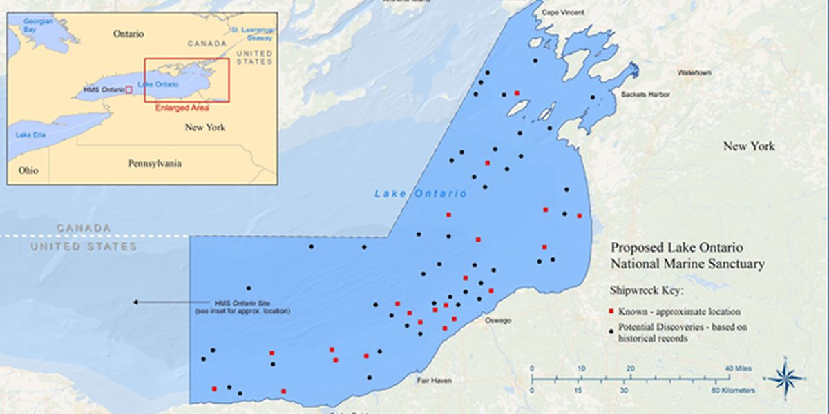 Hearings planned on proposed Lake Ontario marine sanctuary