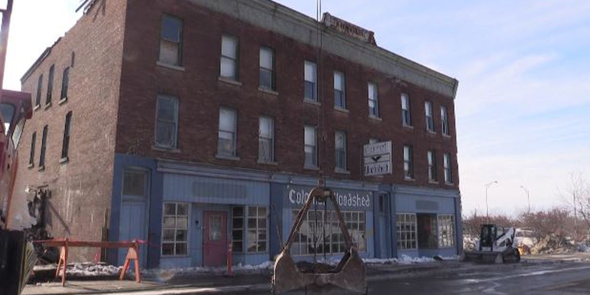 Part of West Main Street to be closed for building demolition