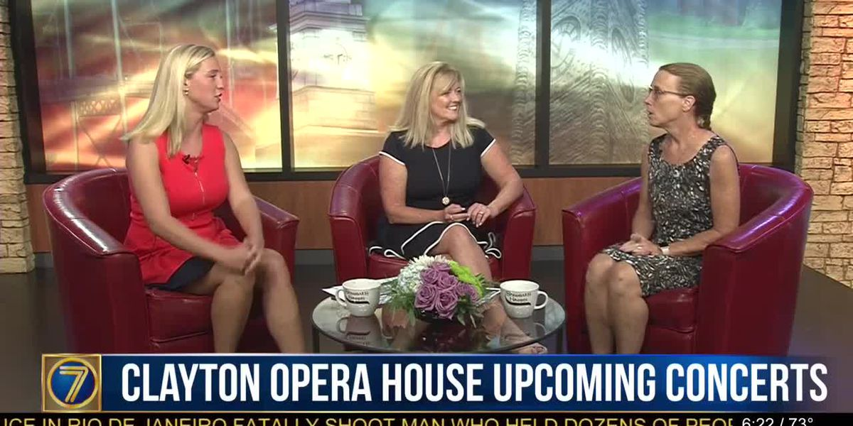 Busy schedule at Clayton Opera House