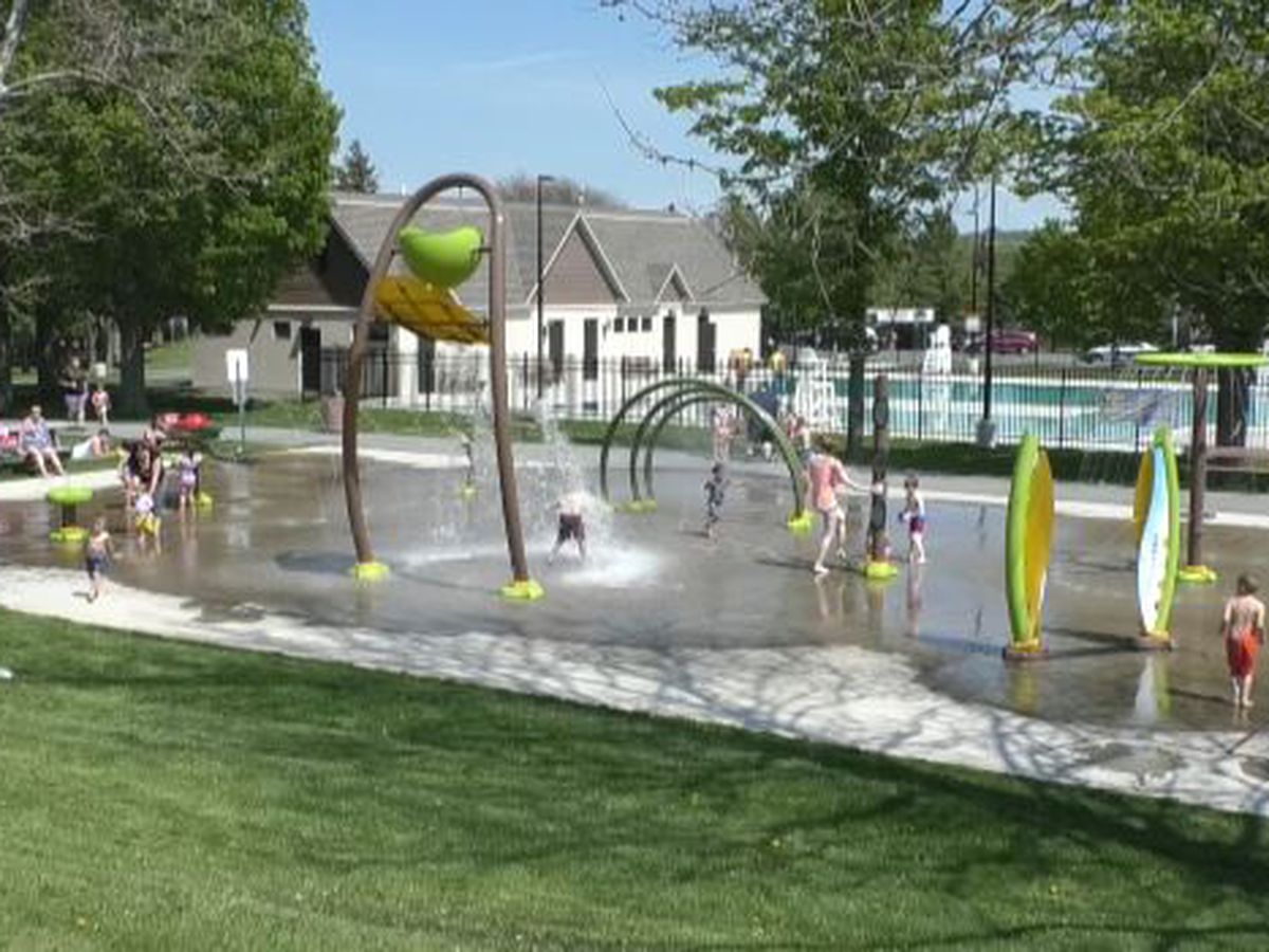 Watertown's splash pad opens to enthusiastic crowd