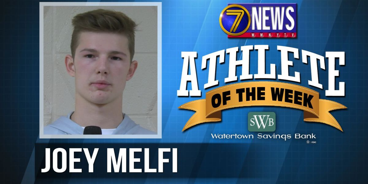Athlete of the Week: Joey Melfi
