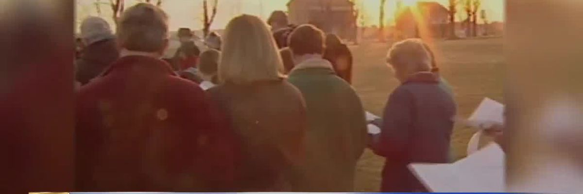 WWNY Blast from the Past: 2001 sunrise Easter service