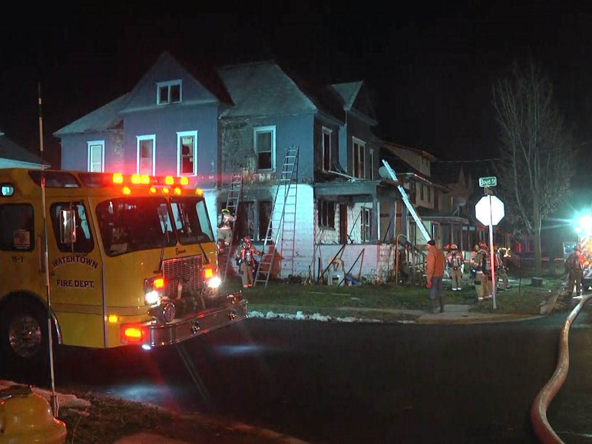 Teenage girls face arson charges for fire at Watertown duplex