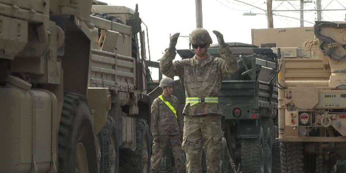 Fort Drum soldiers prepare for training in Louisiana