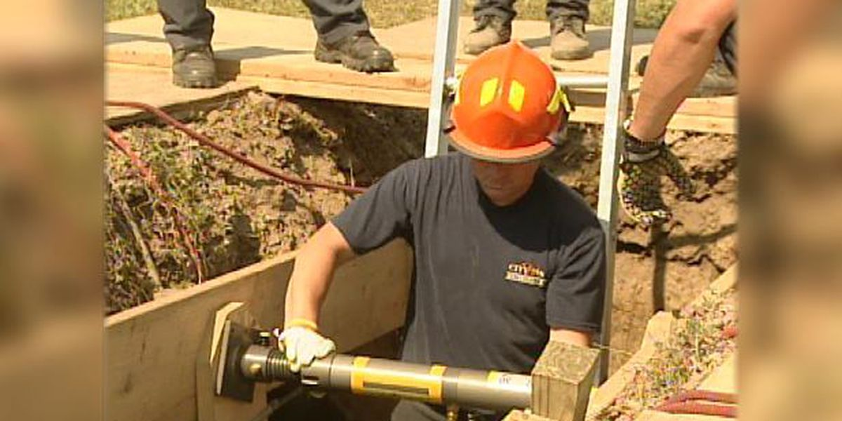 Blast from the Past: 2007 firefighter trench training