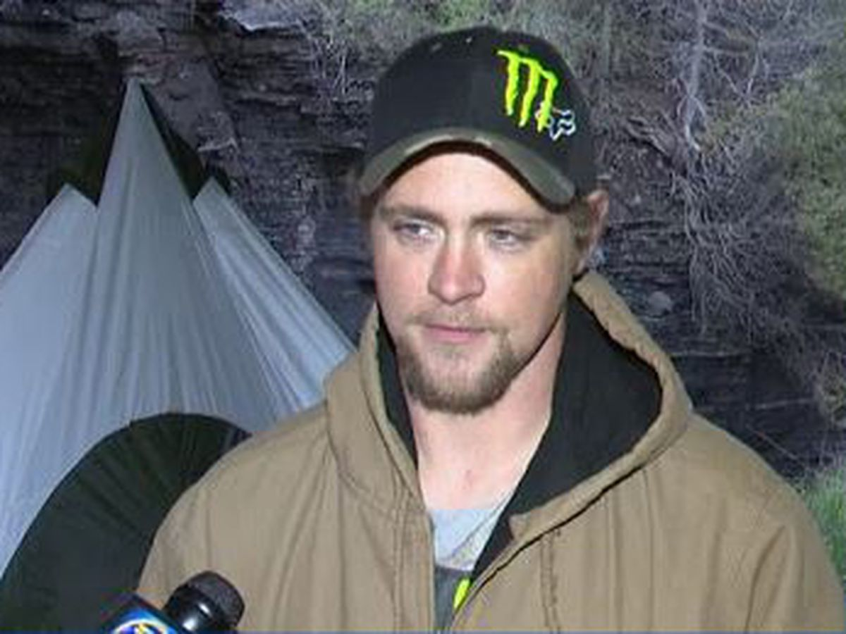 Man living under Lewis County bridge shares his story of struggle