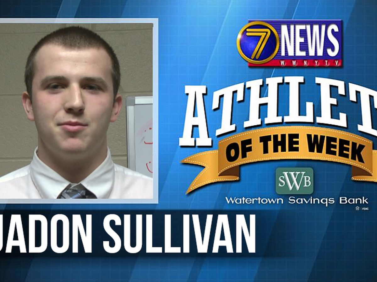 Athlete of the Week: Jadon Sullivan