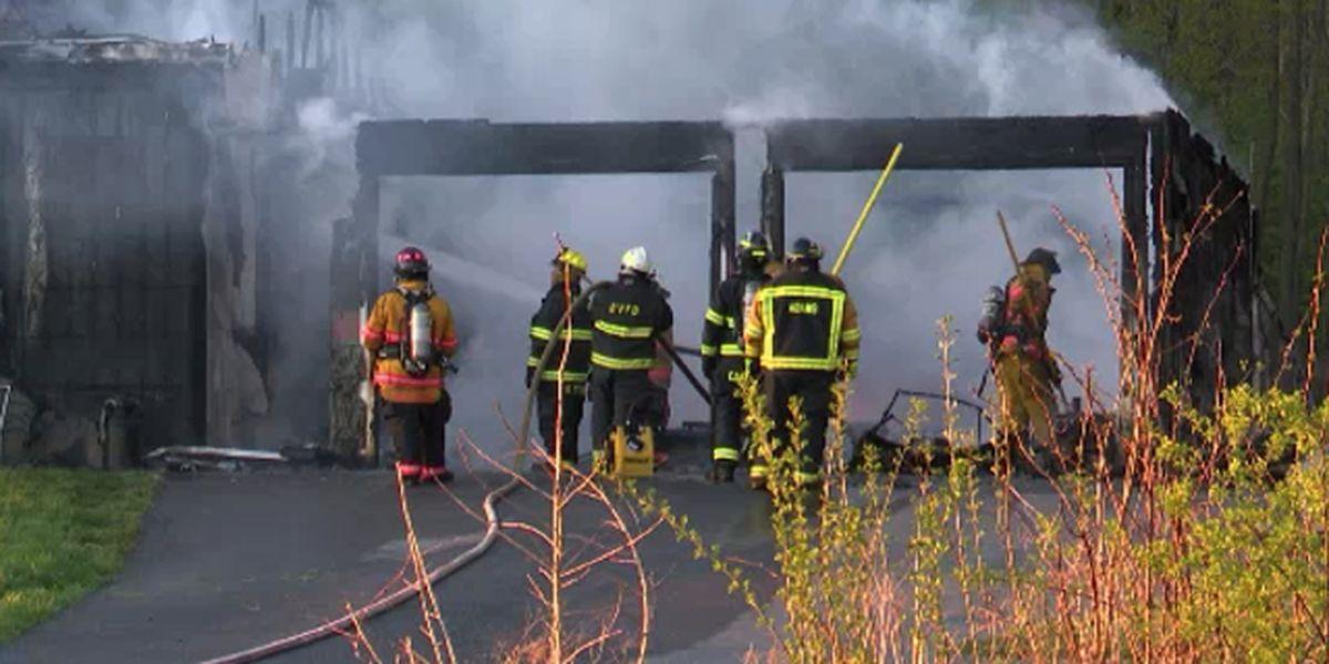 Fire damages Ellisburg home