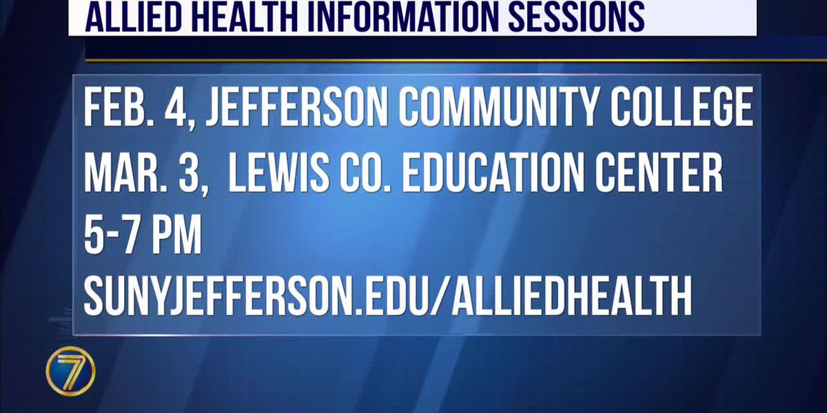 JCC offering allied health information sessions