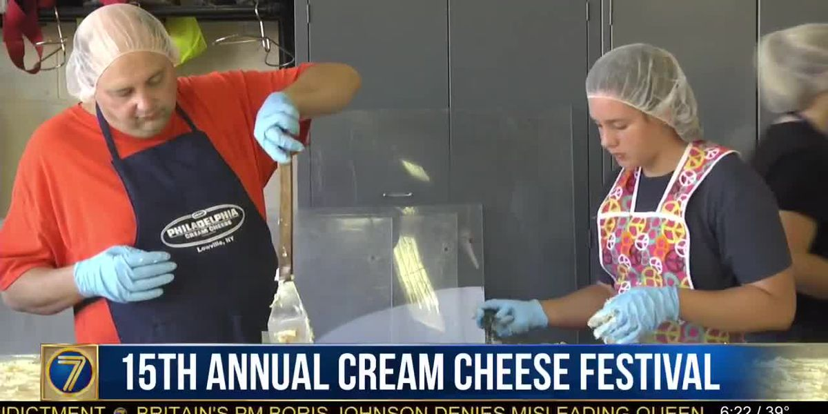 Lowville's cream cheese festival is next week