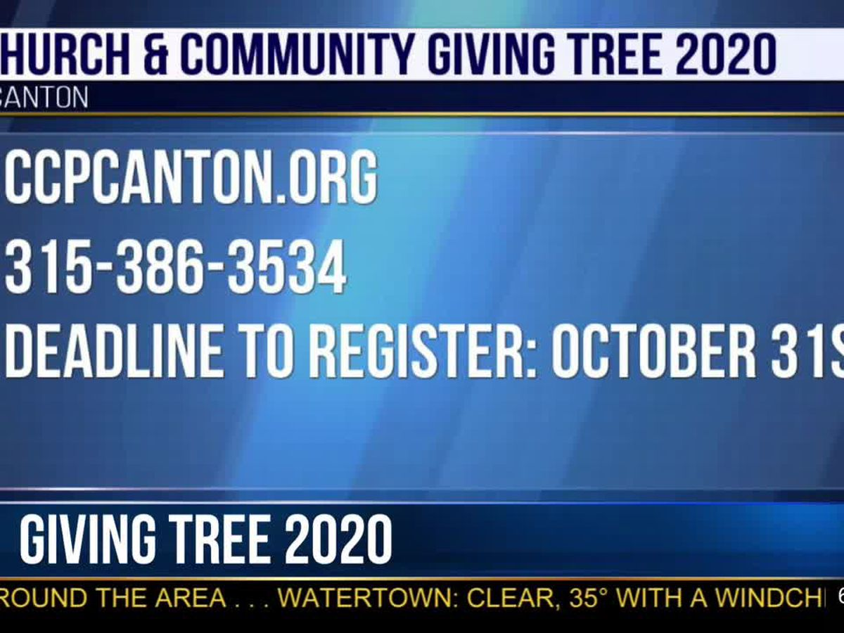 Canton CCP Giving Tree going to vouchers this year