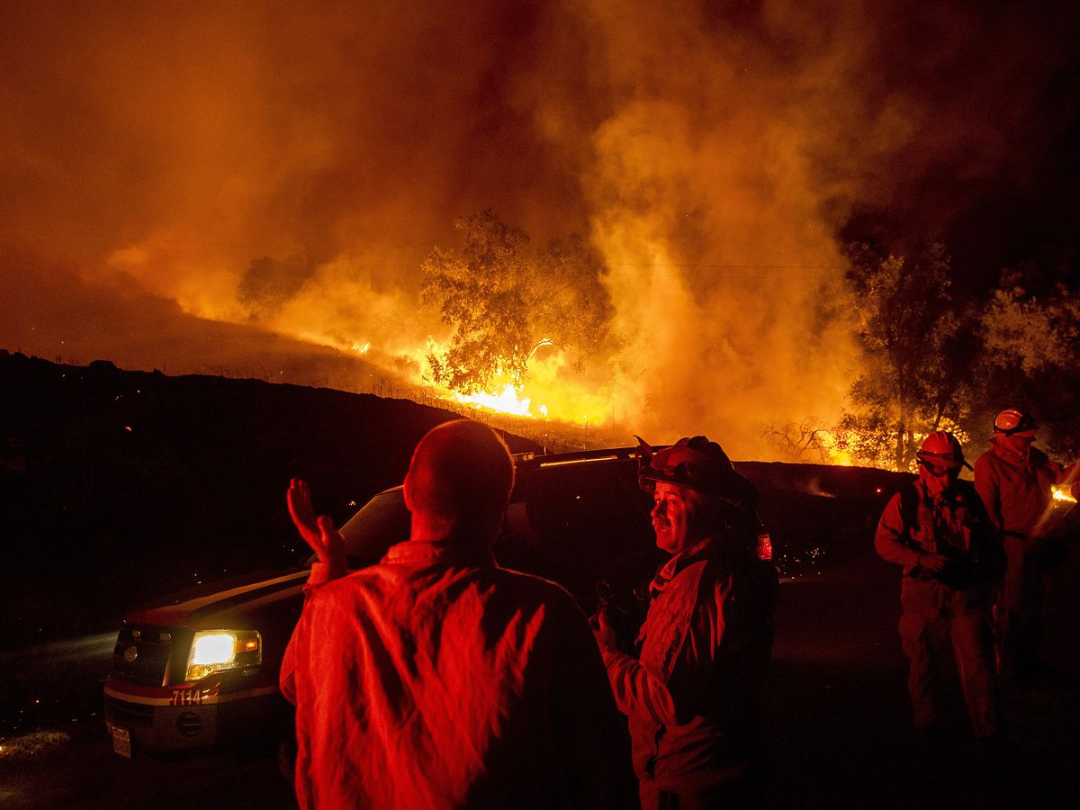 California girds for most dangerous fire weather of year with utility cut