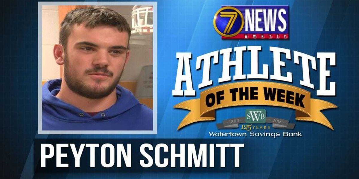 Athlete of the Week: Peyton Schmitt