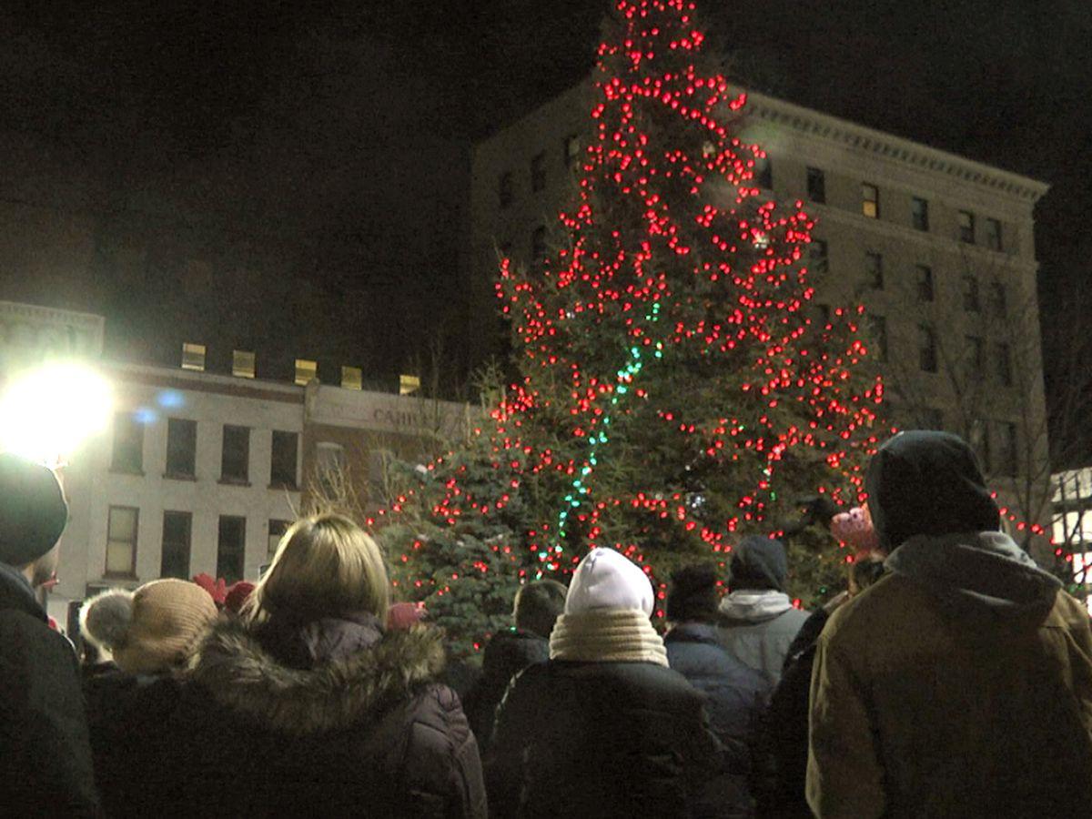 Parade, tree & Christmas spirit light up downtown Watertown